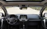 2020 Toyota Land Cruiser - dashboard