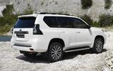 2020 Toyota Land Cruiser - rear