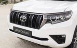2020 Toyota Land Cruiser - front