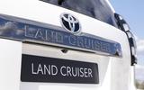 2020 Toyota Land Cruiser - rear detail