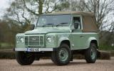 Last ever Land Rover Defender 90