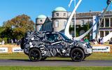 Land Rover Defender at Goodwood 2019 - hill climb