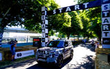 Land Rover Defender at Goodwood 2019 - start line