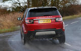 Land Rover Discovery Sport - cornering rear