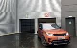 Land Rover Discovery apres a service