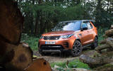 Land Rover Discovery in the wilderness