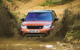 Land Rover Discovery longterm review mud bath