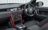 Land Rover Discovery Sport SD4 interior