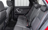 Land Rover Discovery Sport SD4 rear seats
