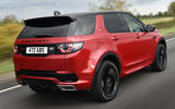 Land Rover Discovery Sport SD4 rear