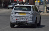 Land Rover Discovery Sport spy shot rear