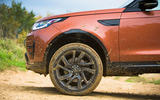 Land Rover Discovery wearing its dirt
