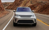 Land Rover Discovery front end