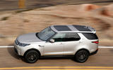 Land Rover Discovery top profile