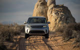 Land Rover Discovery sand-laning