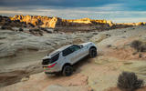 Land Rover Discovery climbing offroad