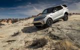 Land Rover Discovery descending