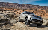 Land Rover Discovery hard off-roading