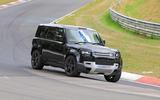 Land Rover Defender V8 Nurburgring front side