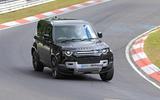 Land Rover Defender V8 Nurburgring front