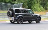 Land Rover Defender V8 Nurburgring side rear close
