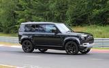 Land Rover Defender V8 Nurburgring side close
