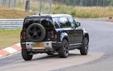Land Rover Defender V8 Nurburgring rear side