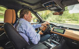 Land Rover Range Rover Velar SVAutobiography 2019 first drive review - Steve Cropley driving
