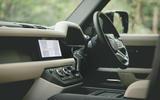 Britain's Best Car Awards 2020 - Land Rover Defender cabin