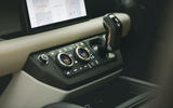 Britain's Best Car Awards 2020 - Land Rover Defender centre console