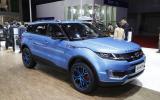 LandWind X7 Range Rover Evoque rip-off