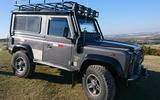 Land Rover Defender Lara Croft
