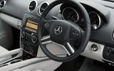 Used car buying guide: Mercedes-Benz M-Class - steering wheel