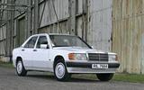 Large 9105 Mercedes Benz190E