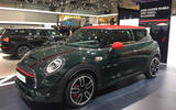 Facelifted Mini hatch