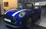 Facelifted Mini cabrio