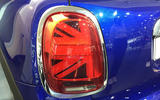 Facelifted Mini rear lights