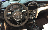 Facelifted Mini cabrio interior