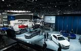 Maserati stand LA motor show