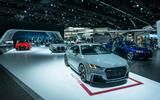 Audi stand LA motor show