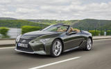 Lexus LC Convertible tracking