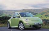 2001 Volkswagen Beetle press hero front