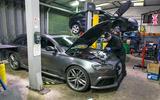 Audi RS4 servicing