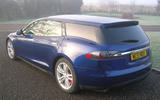 Tesla Model S Shooting Brake completed ahead of London public debut