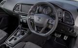 Seat Leon ST Cupra dashboard