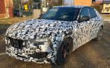 Maserati Levante spy shots