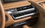 Lexus LC500 centre console