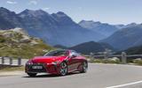 Lexus LC500 cornering