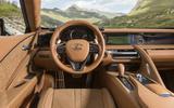 Lexus LC500 dashboard
