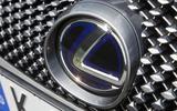Lexus LC500 front badging